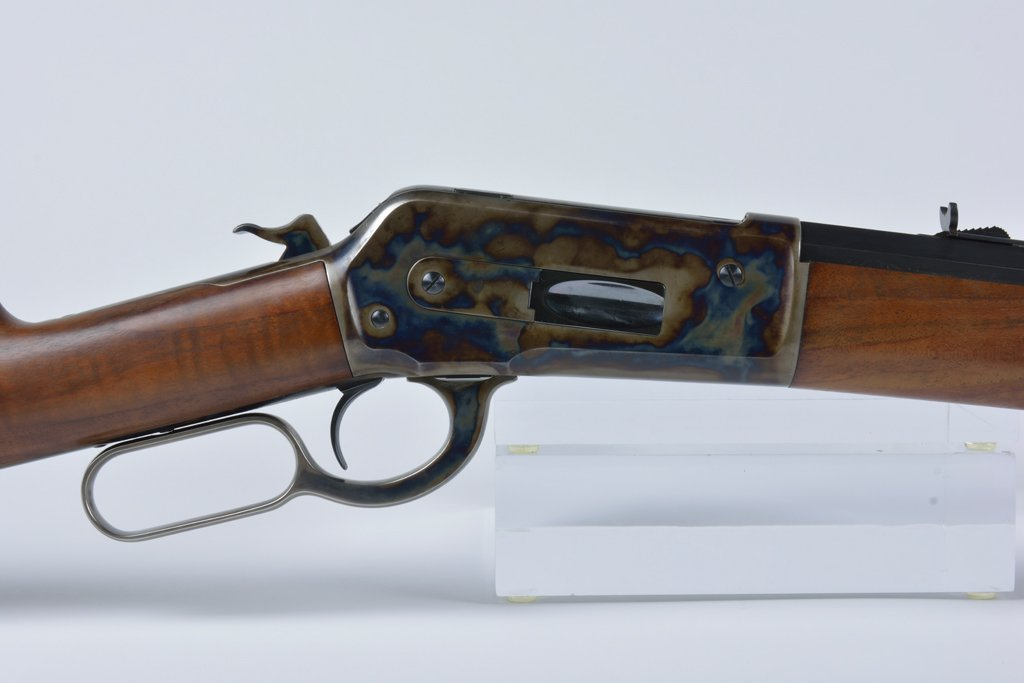 A WINCHESTER MODEL 1886 LEVER ACTION RIFLE - 5