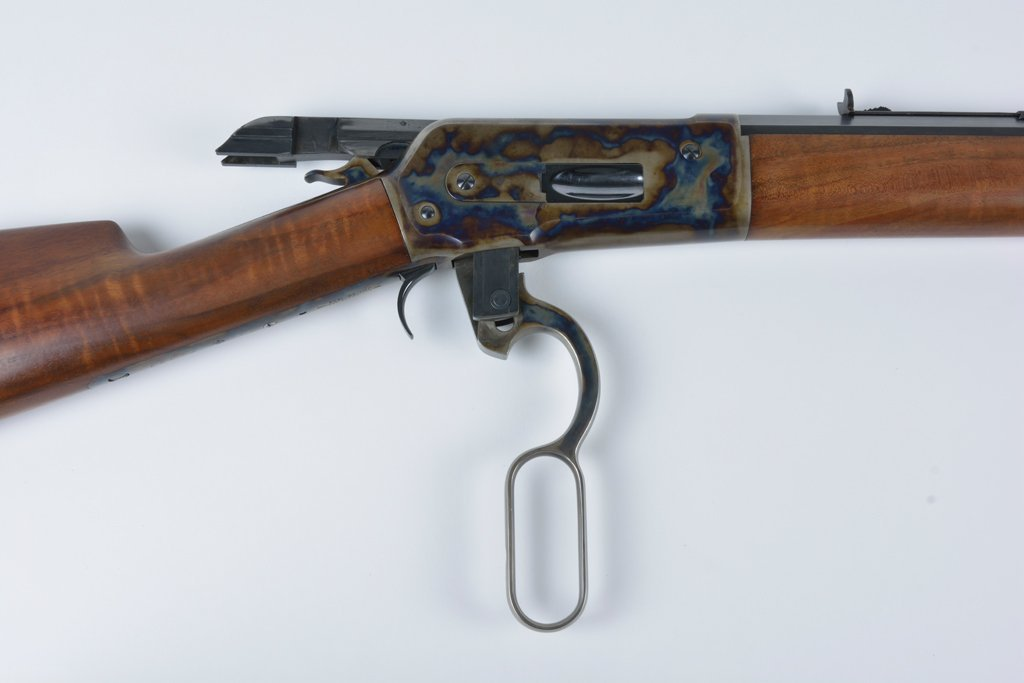 A WINCHESTER MODEL 1886 LEVER ACTION RIFLE - 6