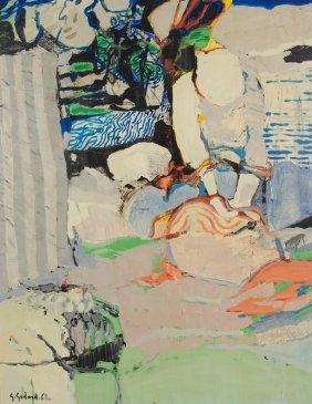 Gabriel Godard, (french, Born 1933), Untitled, 1968,