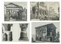 AFTER GIOVANNI BATISTA PIRANESI, (Italian, 1720-1778),