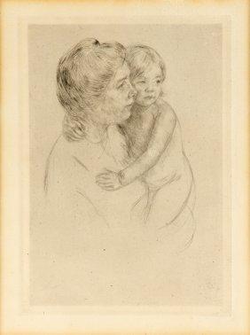 Attributed To Mary Cassatt, (american, 1844-1926),