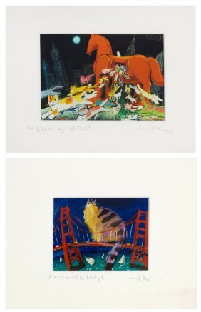 Michael Leu, (taiwanese, 20th Century), The Night Of