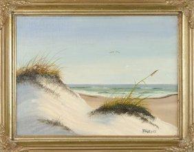 Artist Unknown, (20th Century), Seascape, Oil On Canvas