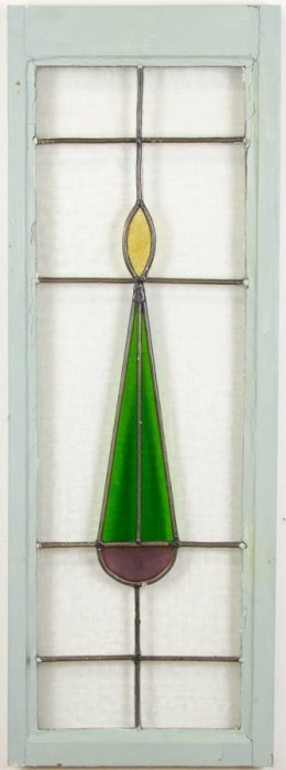 An Arts And Crafts Style Leaded Glass Window