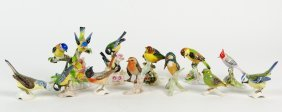 A Collection Of Goebel And Royal Adderley Bird