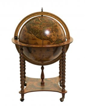 A Decorative Globe On Stand
