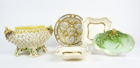 A Collection Of Ceramic Items