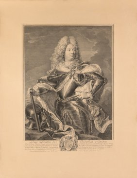 A 20th Century Engraving Of The Duke Of Antin, After