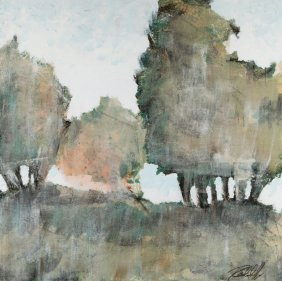 Abstract Landscape, Work On Paper