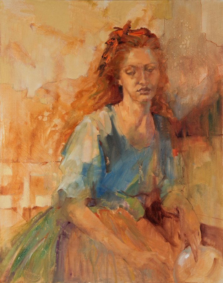 LESLEY HUMPHREY, (American, 20th Century), If I Could