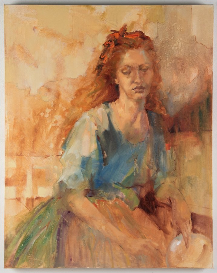 LESLEY HUMPHREY, (American, 20th Century), If I Could - 2