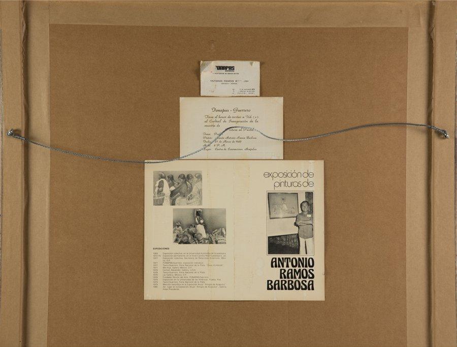 ANTONIO RAMOS BARBOSA, (Mexican, 1942-2005), Pueblo, - 5