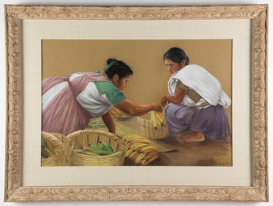ANTONIO RAMOS BARBOSA, (Mexican, 1942-2005), Two Women - 2