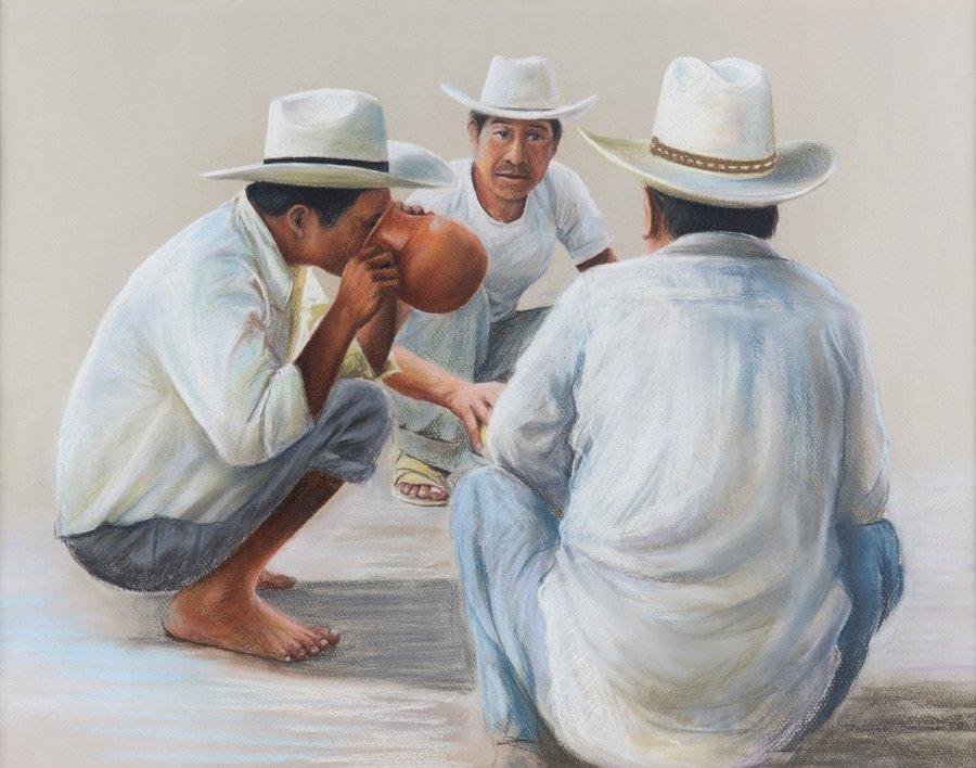 ANTONIO RAMOS BARBOSA, (Mexican, 1942-2005), Almuerzo,