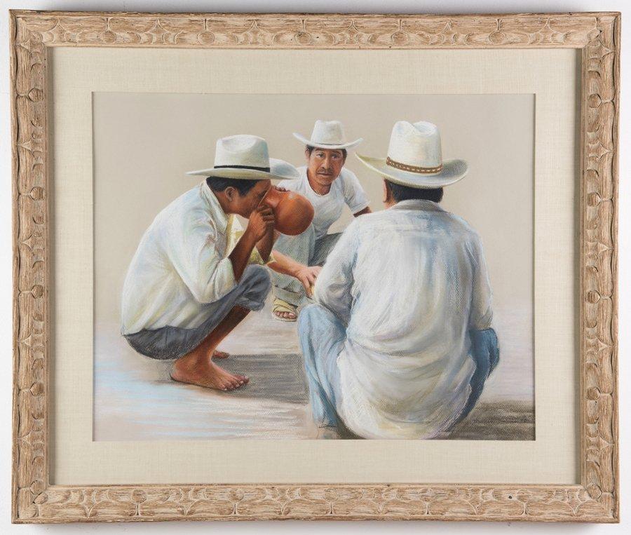 ANTONIO RAMOS BARBOSA, (Mexican, 1942-2005), Almuerzo, - 2