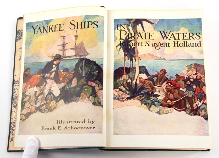 'YANKEE SHIPS IN PIRATE WATERS' BY RUPERT SARGENT - 5