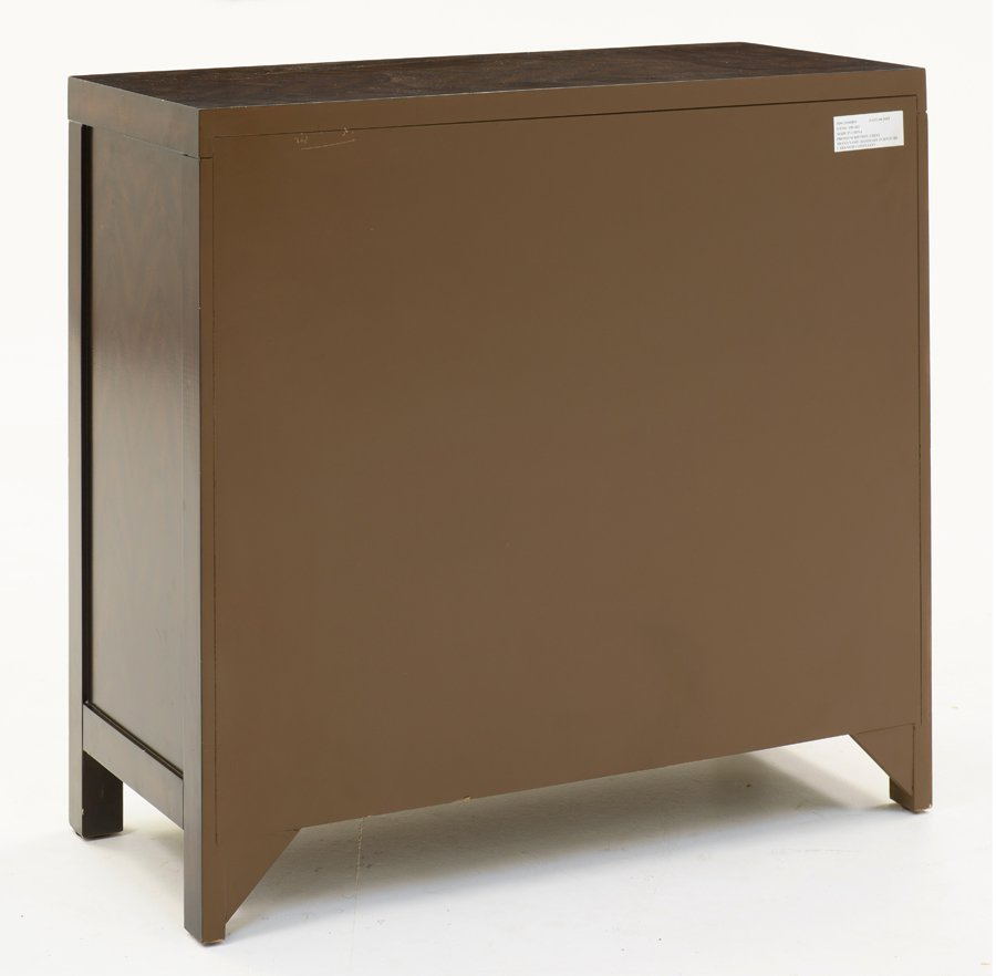 A HORCHOW MIRRORED CHEST OF DRAWERS - 2