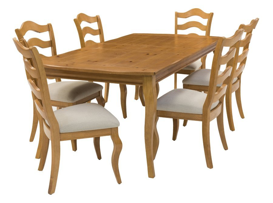 A FRENCH PROVINCIAL STYLE DINING SET - 2