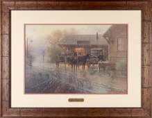 KATY DEPOT BY G HARVEY OFFSET LITHOGRAPH