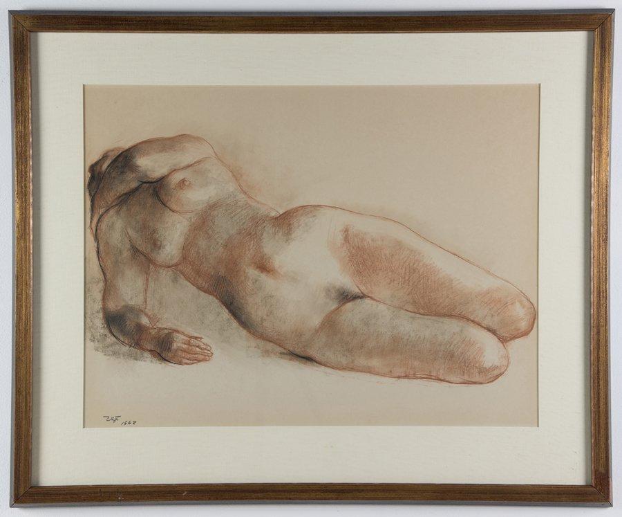 FRANCISCO ZUNIGA, (Mexican, 1912-1998), Nude, 1968, - 2