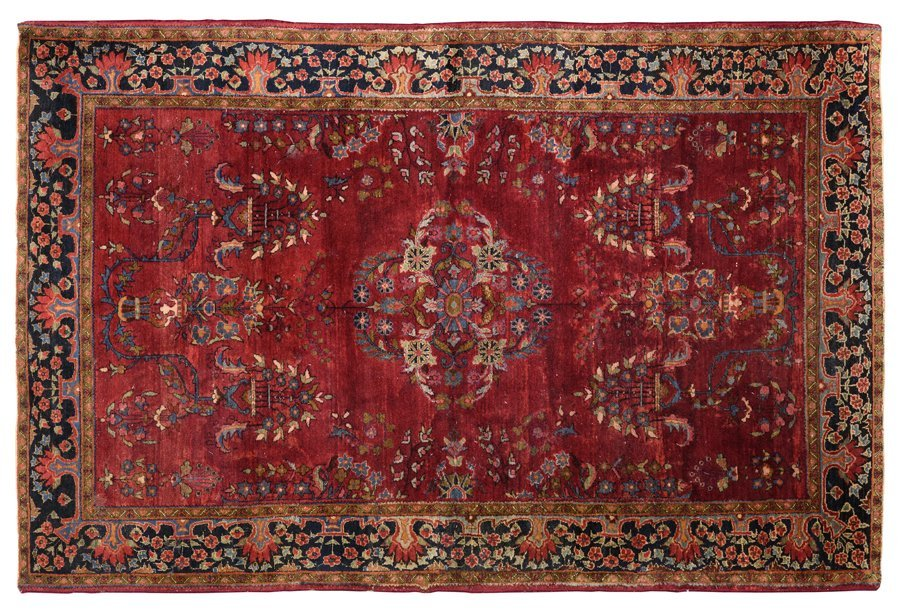 A PERSIAN STYLE RUG