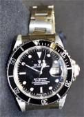 Men's Rolex Submariner  *  Stainless Steel