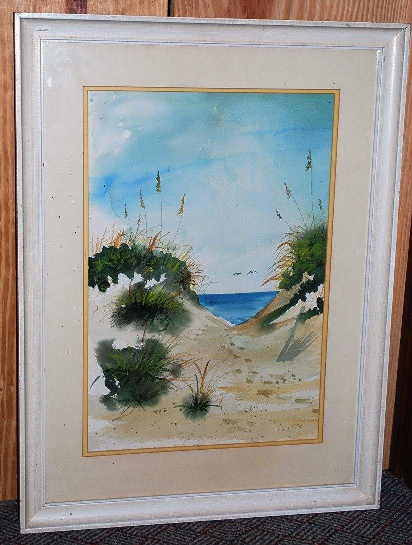 Painting, Paul Patterson, St Simons Artist