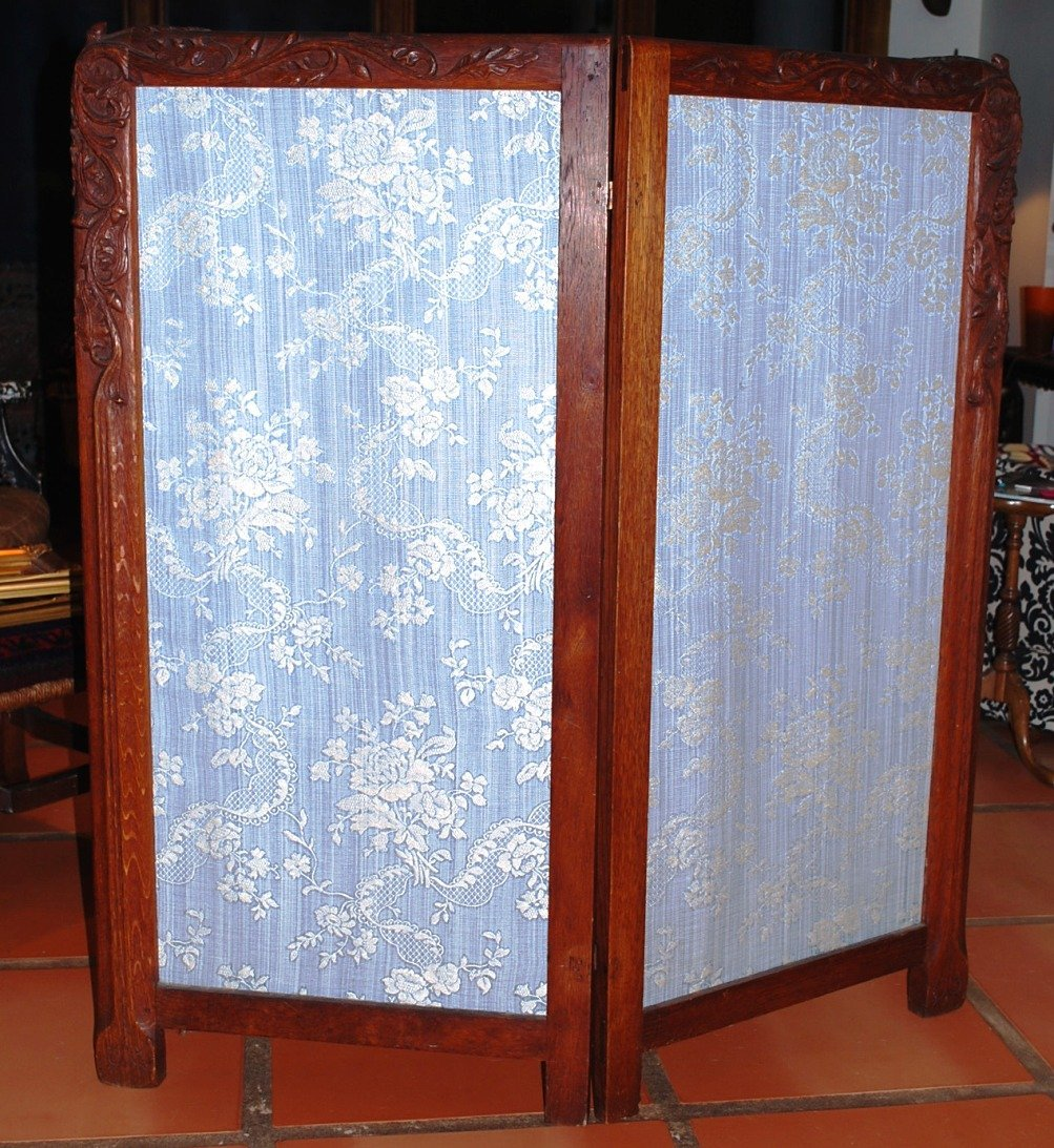 American Arts & Crafts Folding Screen