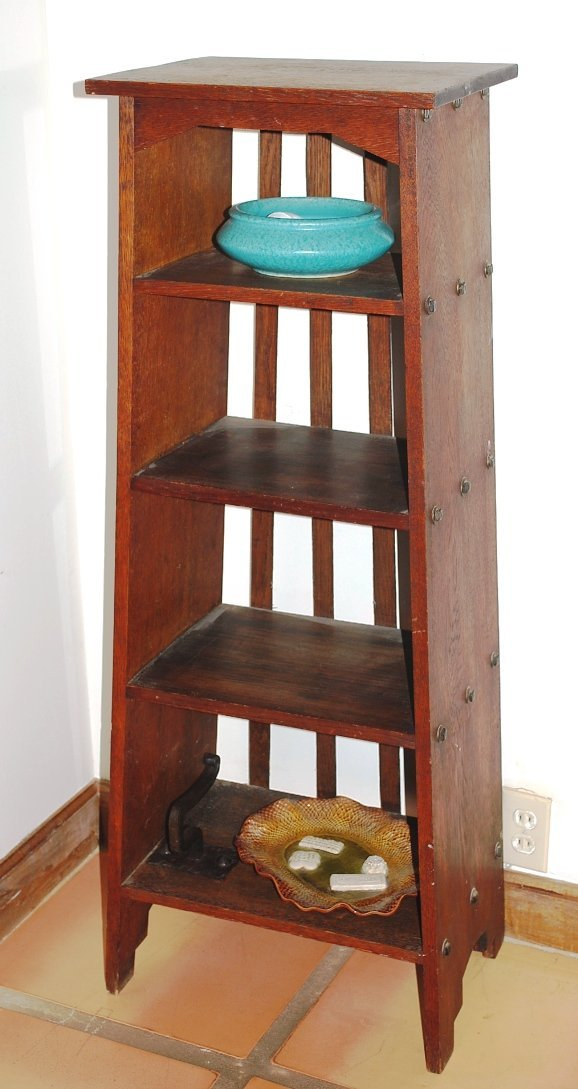 American Oak Arts & Crafts Bookcase