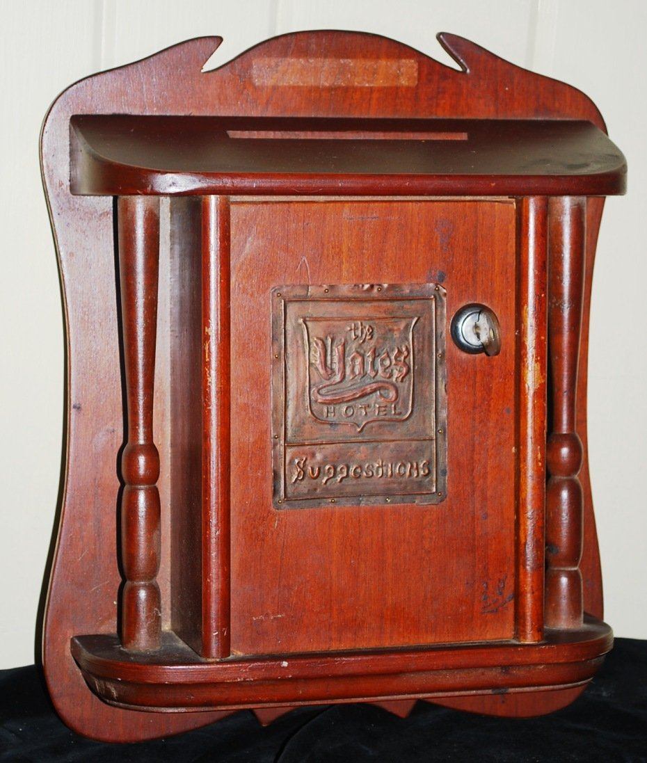 L & JG Stickley Suggestion Box