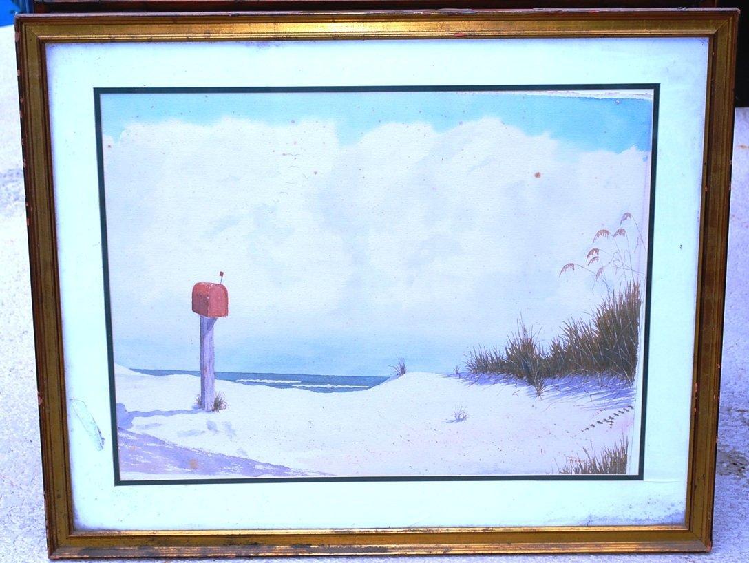 Watercolor,  Paul Patterson, St Simons Artist