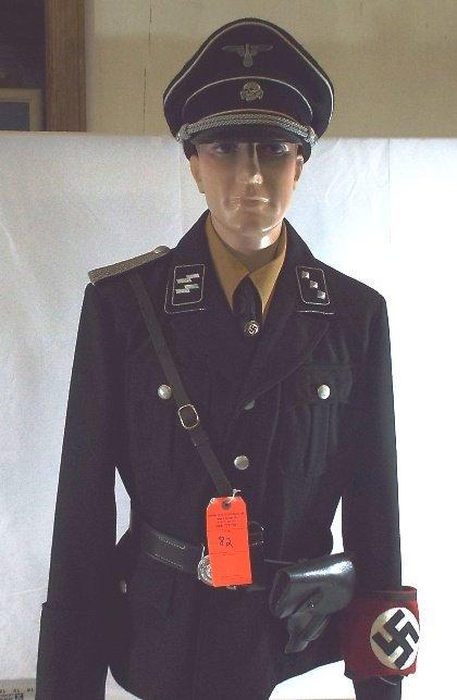 German SS Officer Military Uniform