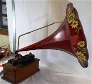 Antique Edison Gramophone