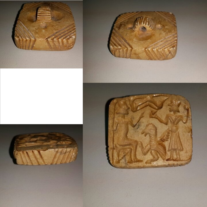 Lovely Near Eastern Afghan Intaglio Stone Stamp