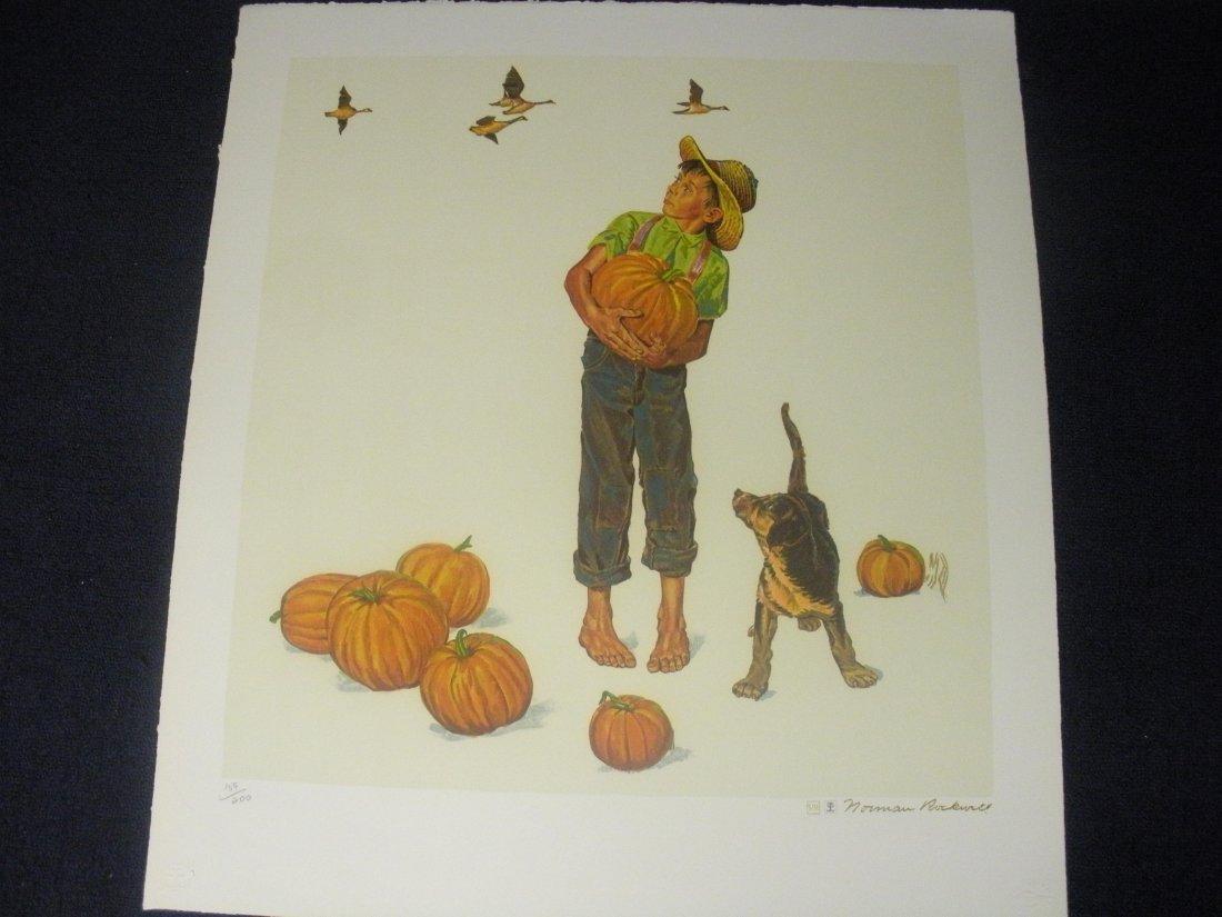 Autumn Harvest - Norman Rockwell