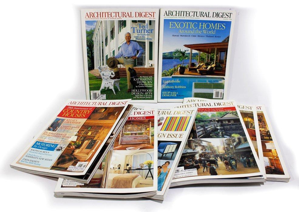 Architectural Digest Magazines