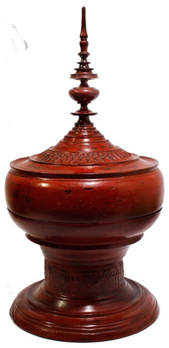 Thai Tower Jar