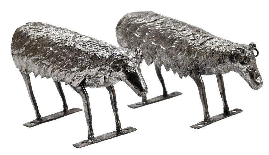 Miniature Sheep (A Pair)