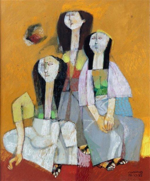 Mauro Malang Santos B 1960 Mar 02 2018 Leon Gallery In Philippines