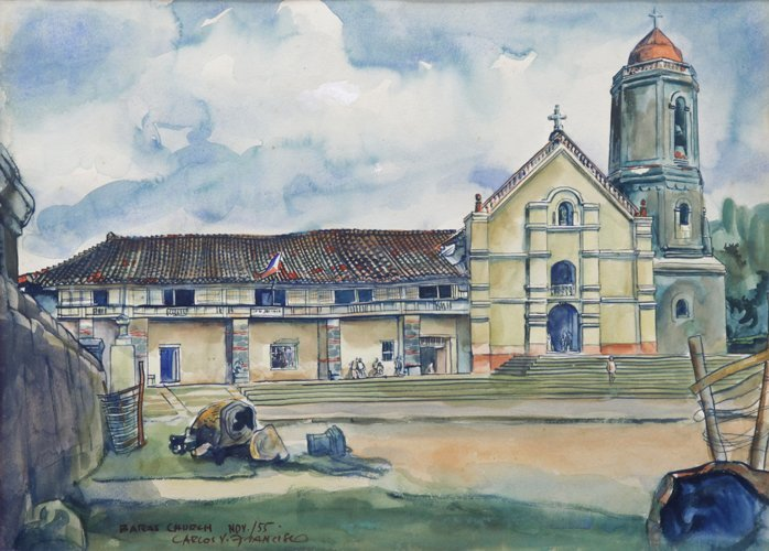 """Carlos """"Botong"""" Francisco (1912 - 1969)"""