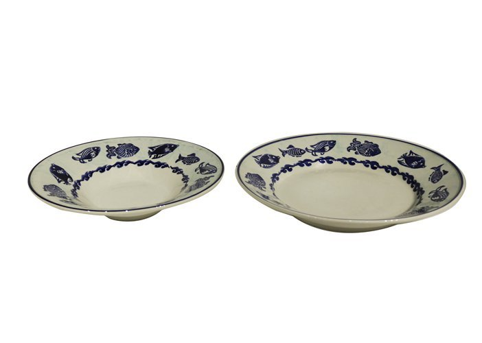 Pair of Ceramic Plates