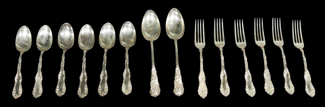 Set of Silver Spoon and Fork