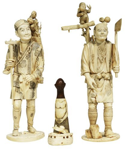 Ivory Chinese Sculptures