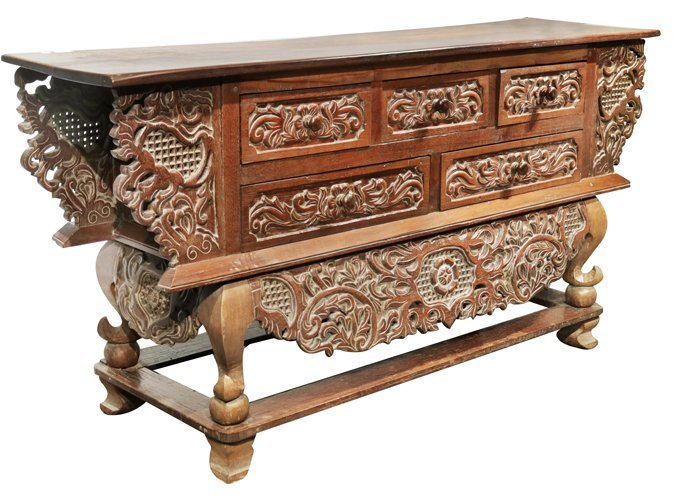 Batangas Altar Console Table Porch