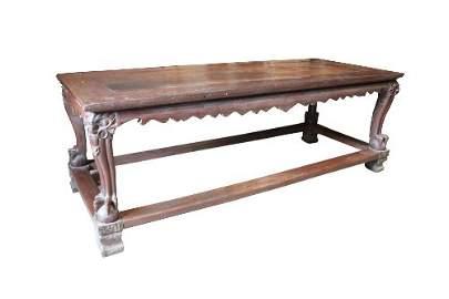 """A """"MASKARA"""" TABLE (narra and possibly balayong)"""