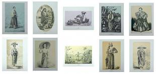 A Folio of 10 Art Reproductions From The Lopez Memorial