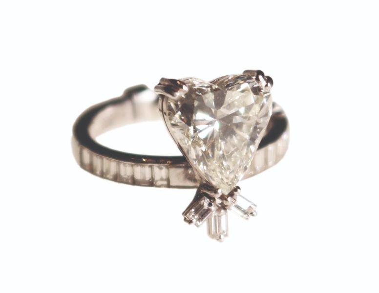A Heart Shaped Diamond