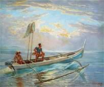 Ricarte Puruganan (1912 - 1998)    - Fishermen