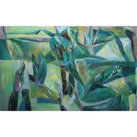 Edwin Wilwayco  (b. 1952)  - Birds of Paradise
