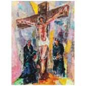 Macario Vitalis  (1898 - 1989) - Crucifixion
